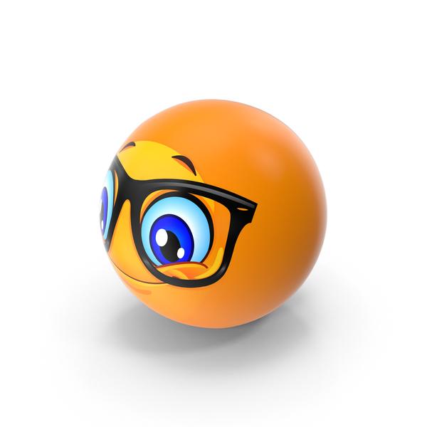 Facial Expression: Emoji Smiling Glasses PNG & PSD Images