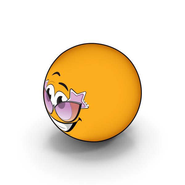 Facial Expression: Emoji Sunglasses PNG & PSD Images