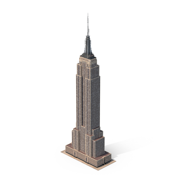 Skyscraper: Empire State Building PNG & PSD Images