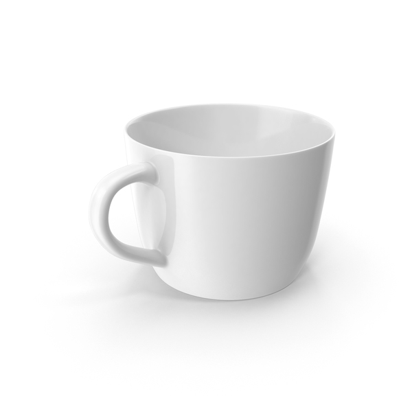 Empty Coffee Cup Object
