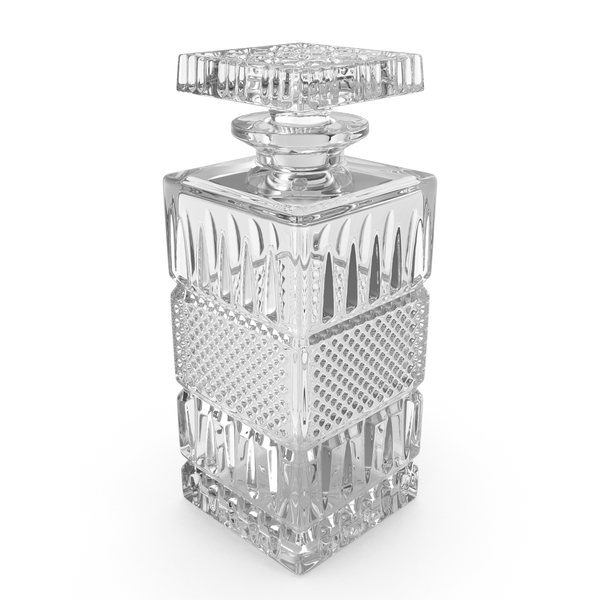 Empty Crystal Whiskey Decanter PNG & PSD Images