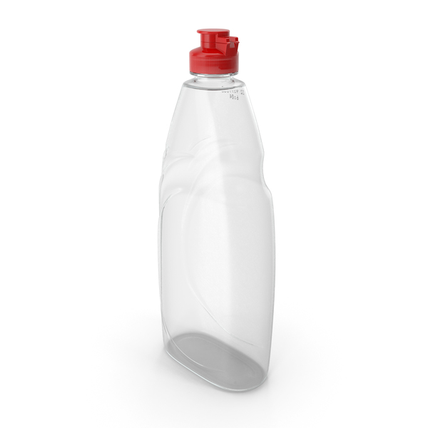 Empty Dishwashing Bottle PNG & PSD Images