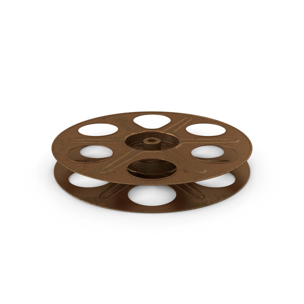 Empty Film Reel Object