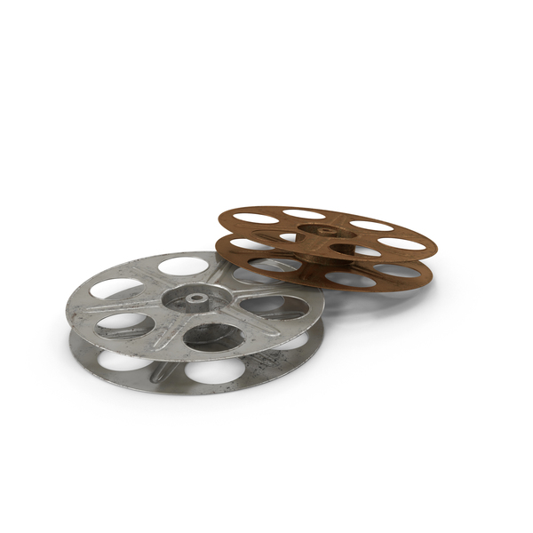Empty Film Reels Object