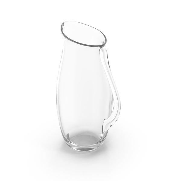 Empty Glass Pitcher PNG & PSD Images