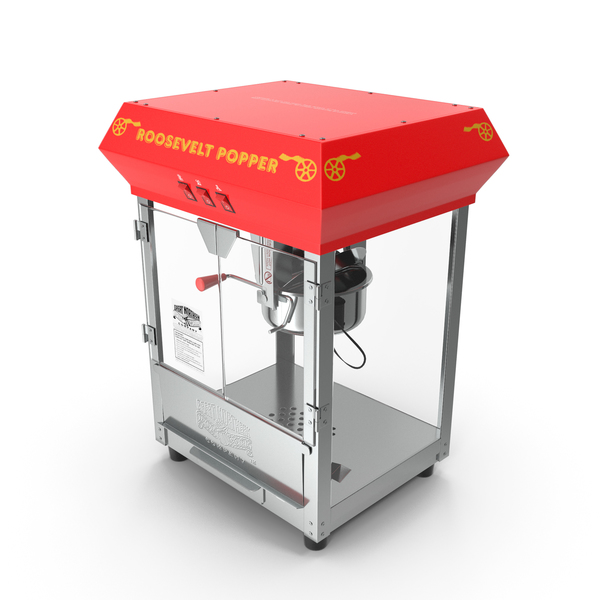 Empty Popcorn Machine Great Northern PNG & PSD Images