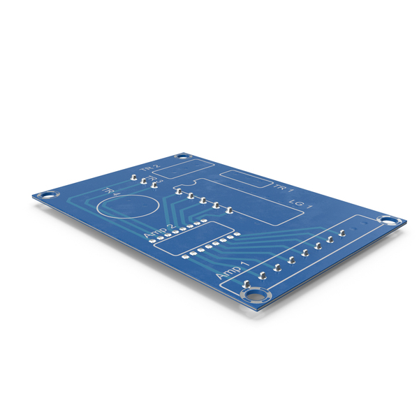Empty Printed Circuit Board PNG & PSD Images