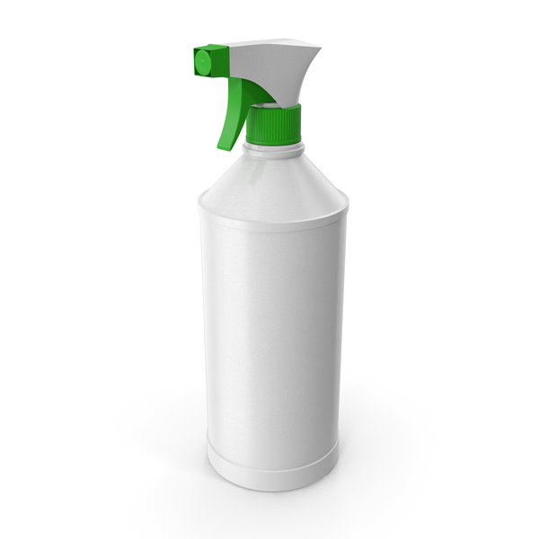 Empty Spray Bottle for Cleaning PNG & PSD Images