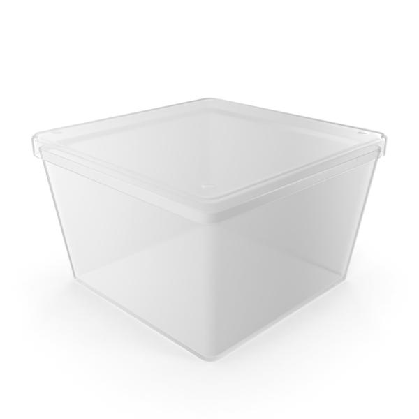 Empty Square Plastic Box PNG & PSD Images