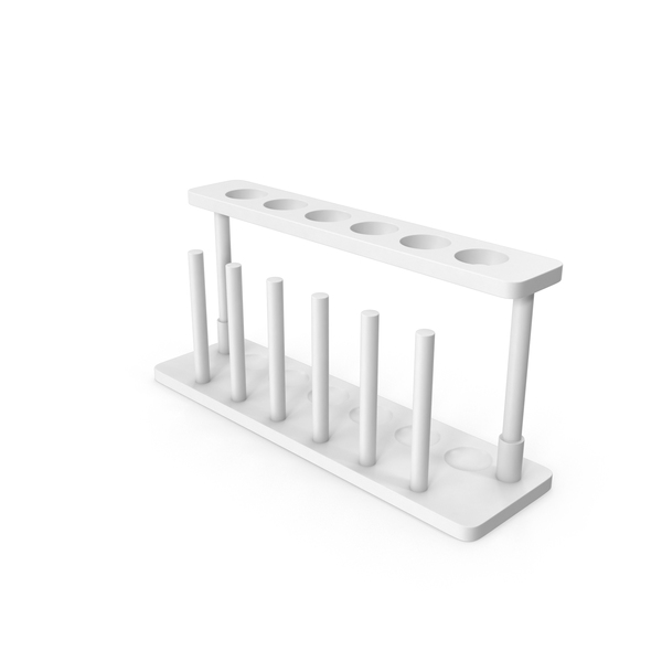 Empty Test Tube Rack PNG & PSD Images