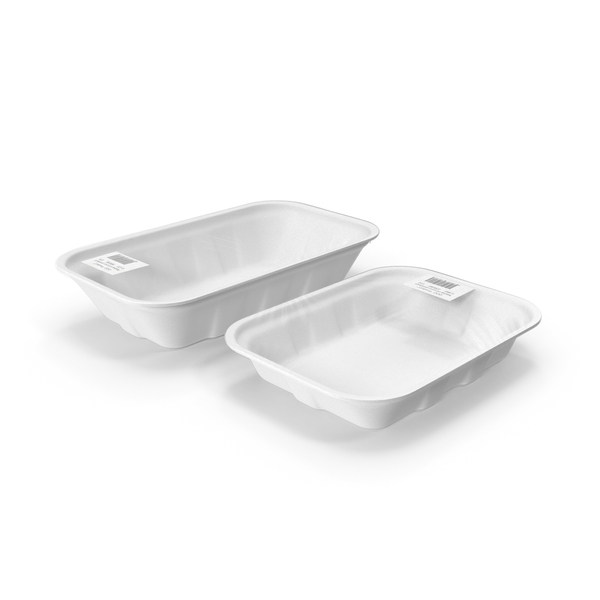Container: Empty Wrapped Food Tray PNG & PSD Images