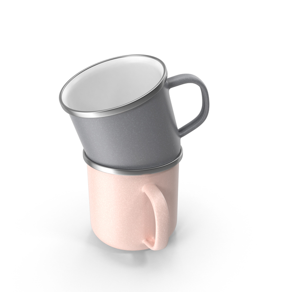 Enamel Cups PNG & PSD Images