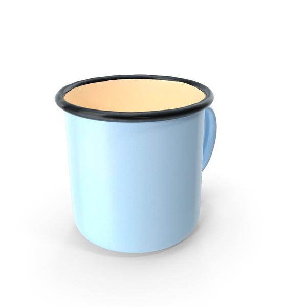 Coffee Cup: Enamel Mug PNG & PSD Images