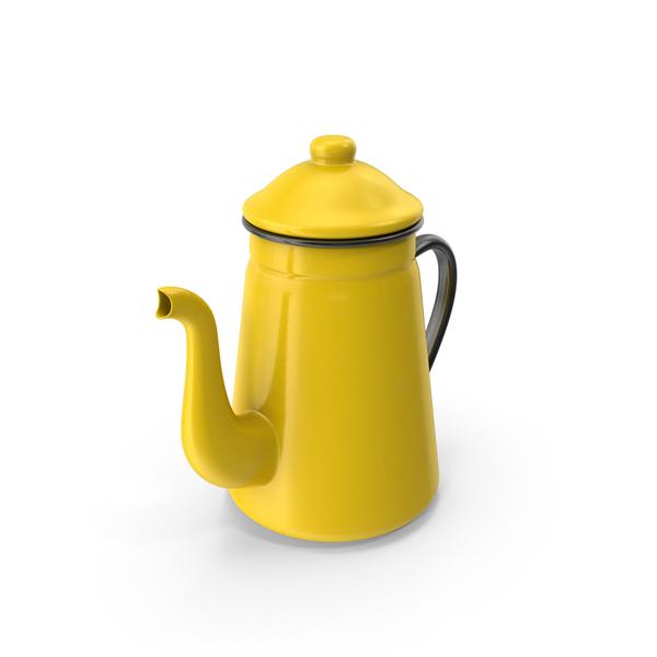 Enamel Teapot PNG & PSD Images