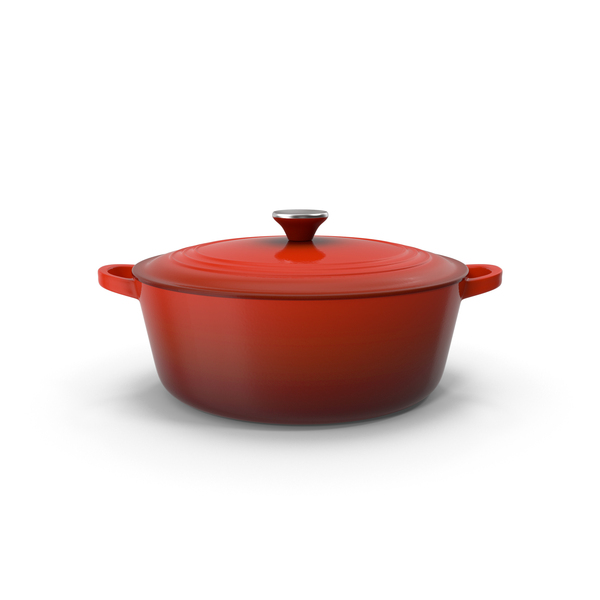 Enameled Dutch Oven PNG & PSD Images