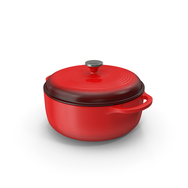 Pot (Cookware): Enameled Oven Roaster PNG & PSD Images