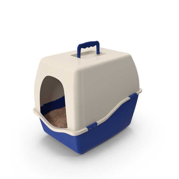 Enclosed Litter Box Object