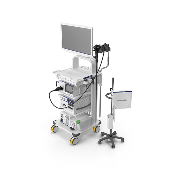 Endoscope: Endoscopic System Olympus Evis X1 01 PNG & PSD Images