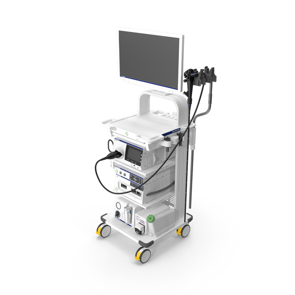 Endoscopic System Olympus Evis X1 PNG & PSD Images