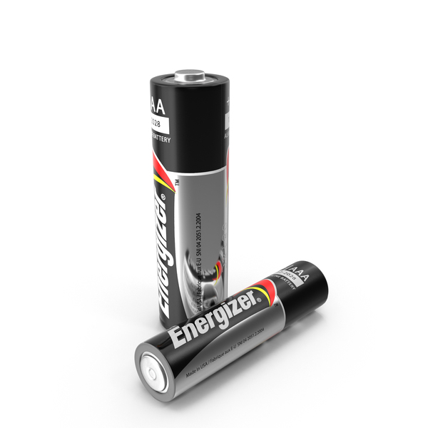 Battery: Energizer Alkaline Batteries PNG & PSD Images