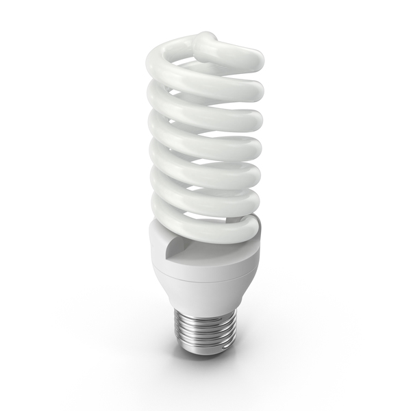 Energy Efficient Lightbulb PNG & PSD Images