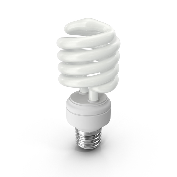 Energy Saving Light Bulb Object