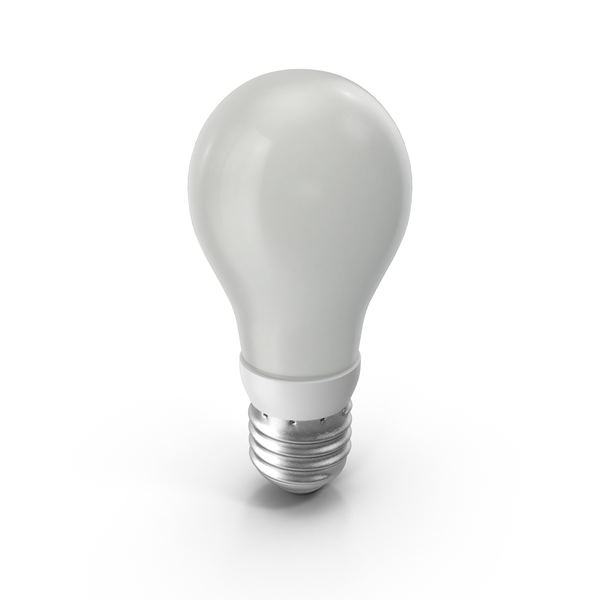 Fluorescent: Energy Saving Light Bulb PNG & PSD Images