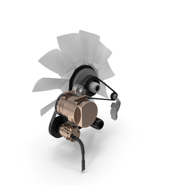 Engine Cooling Fan PNG & PSD Images