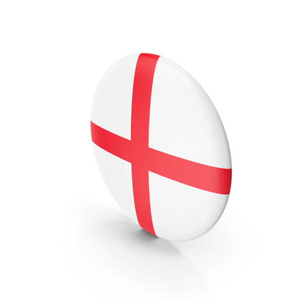 Heart Shaped Candy: England Badge Symbol PNG & PSD Images