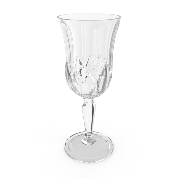 Engraved Crystal Glass PNG & PSD Images