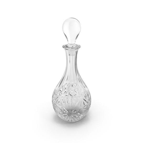 Engraved Decanter PNG & PSD Images