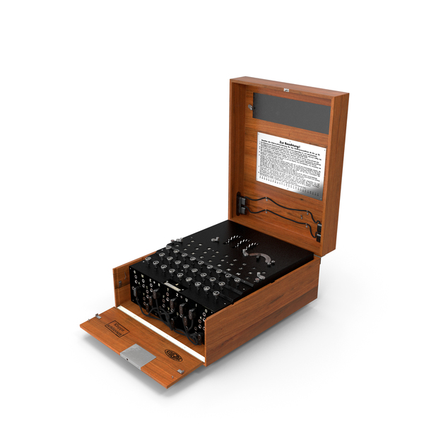 Enigma Cipher Machine PNG & PSD Images