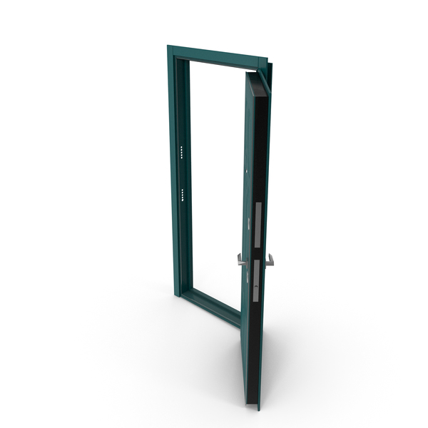 Entrance Door Green PNG & PSD Images