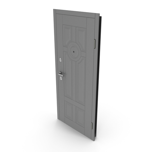 Entrance Door Grey PNG & PSD Images