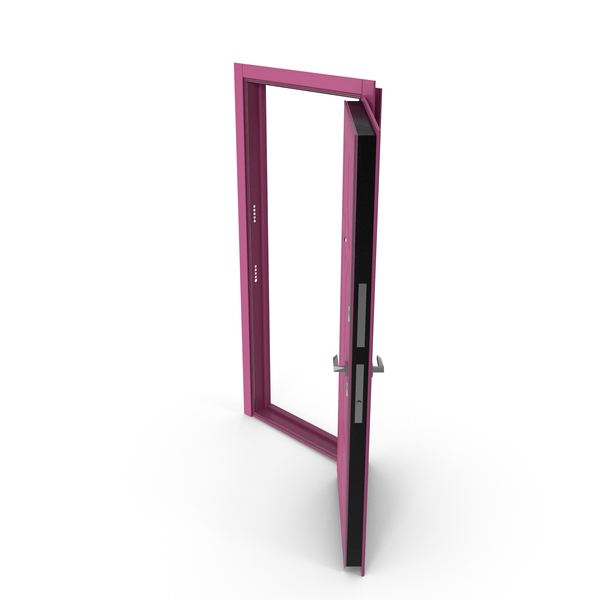 Entrance Door Purple PNG & PSD Images