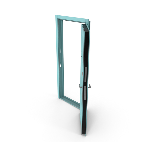 Entrance Door Turquoise PNG & PSD Images