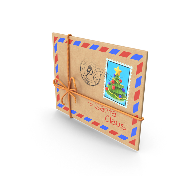 Christmas Card: Envelope PNG & PSD Images