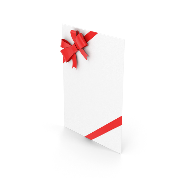Envelope With Bow PNG & PSD Images