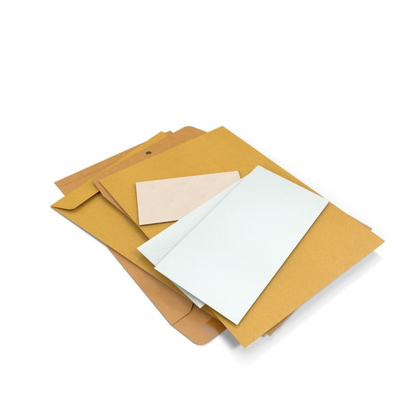 Envelopes PNG & PSD Images