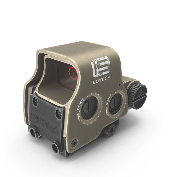 EOTech EXPS3-0 Sand PNG & PSD Images
