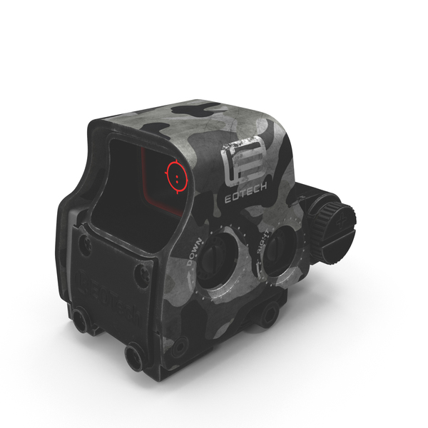 EOTech EXPS3 Sight PNG & PSD Images