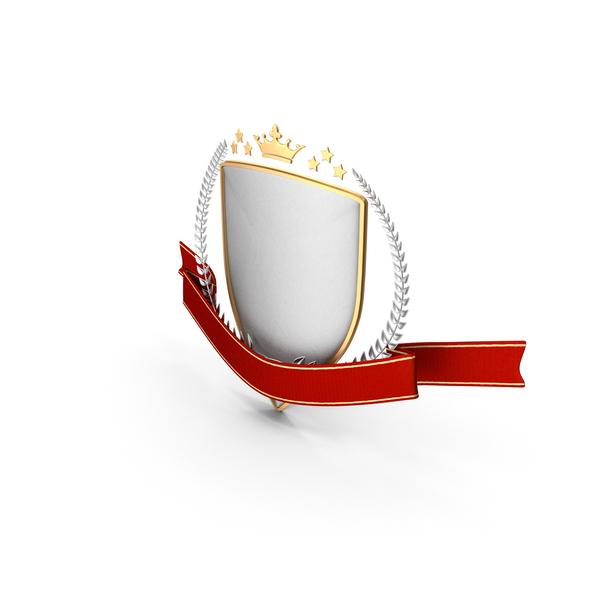 Epic Title Emblem Shield PNG & PSD Images