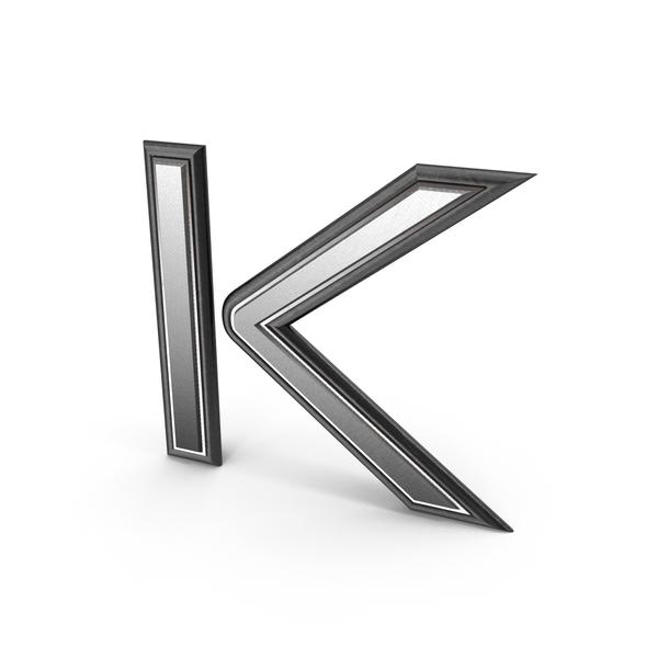 Letter: Epic Titles K PNG & PSD Images