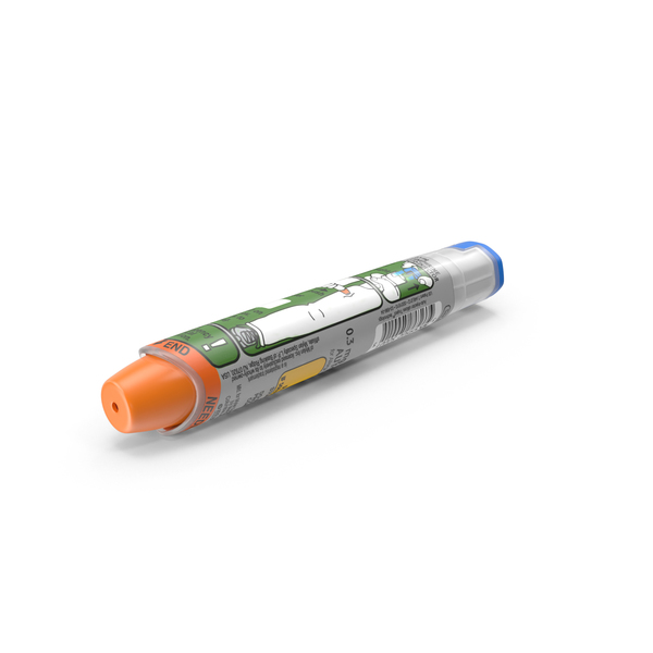 Epinephrine Autoinjector PNG & PSD Images