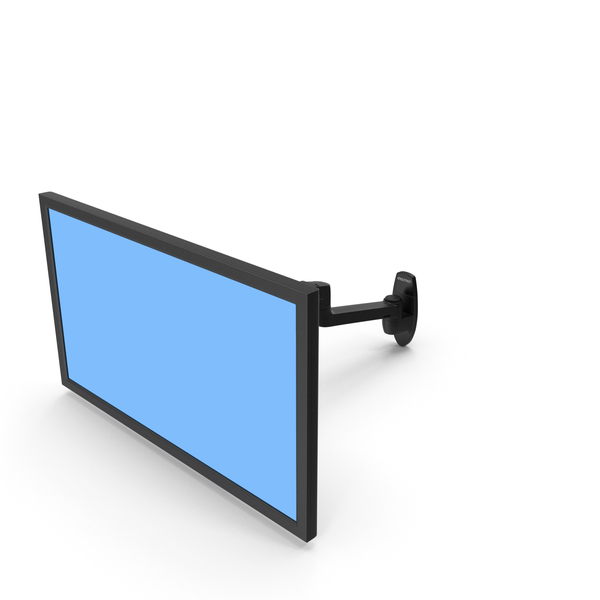 Ergotron LX Wall Mount Monitor Arm PNG & PSD Images