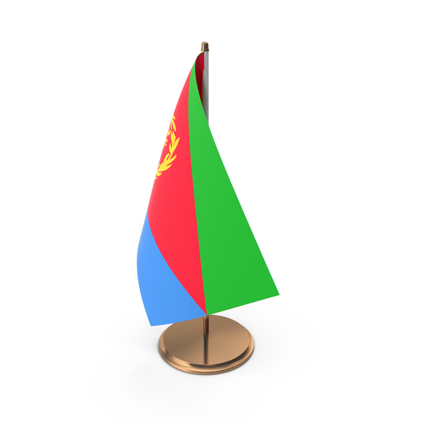 Eritrea Desk Flag PNG & PSD Images