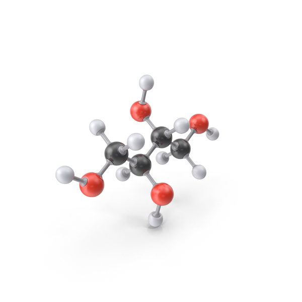 Erythritol Molecule PNG & PSD Images
