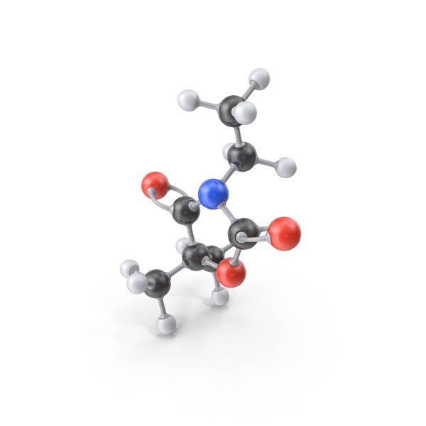 Ethadione Molecule PNG & PSD Images