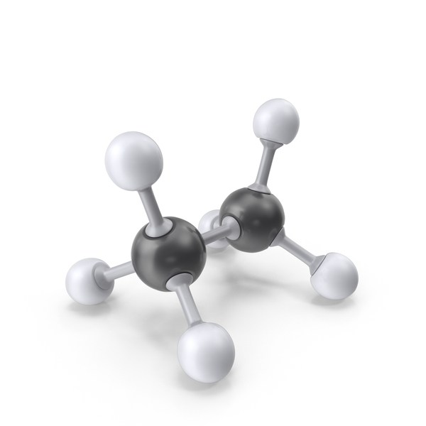 Ethane Molecule PNG & PSD Images