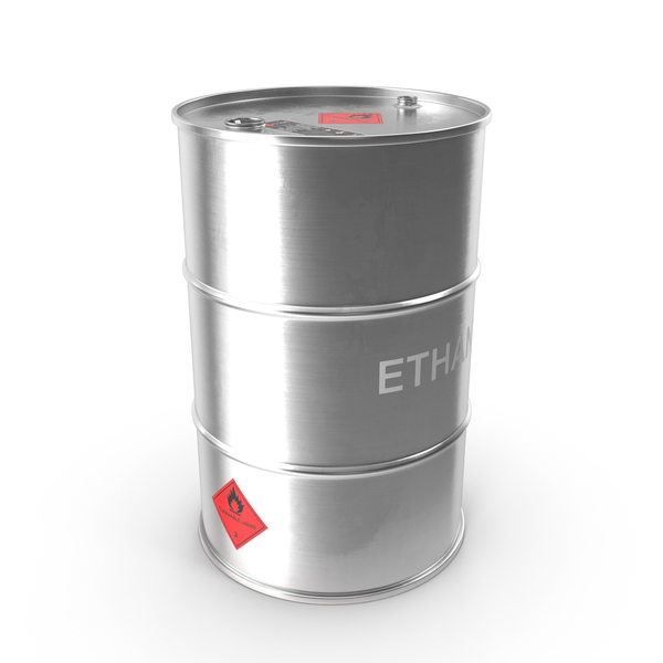 Steel: Ethanol Metal Barrel PNG & PSD Images